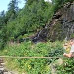 Radau-Wasserfall-Wanderer
